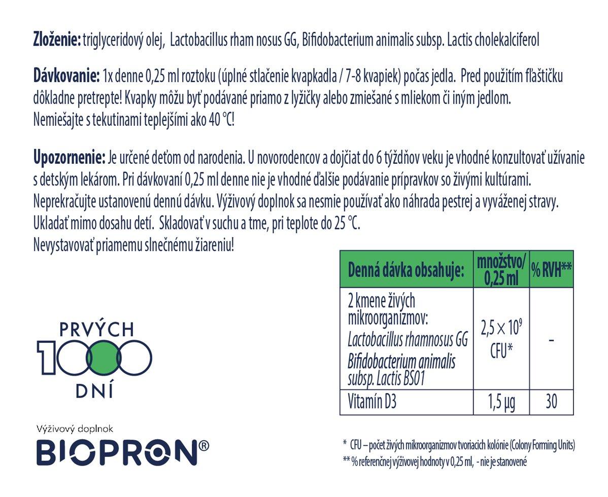 Biopron Baby+